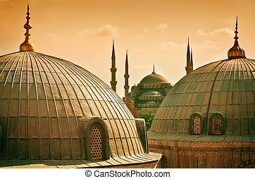 Sultan Ahmed Mosque in Istanbul Turkey - Sultan Ahmed Mosque...