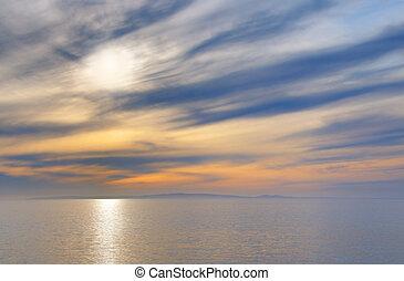 Mellow seascape