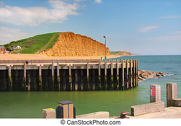 West Bay, Dorset - part of the Jurassic World Heritage Site...