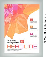 Business flyer cover design Template.