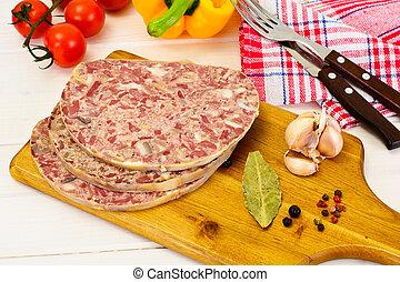 Saltisons, Brawn Homemade Ham Studio Photo