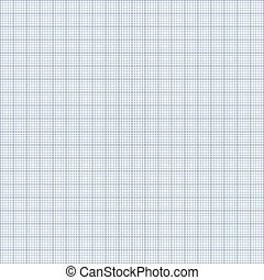 Seamless Blue Graph Paper Background