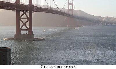 Golden Gate Bridge Time Lapse three - Golden Gate Bridge...