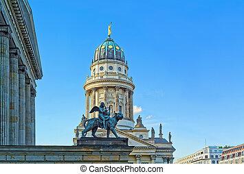 Gendarmenmarkt square in Berlin - Concert hall (Konzerthaus)...
