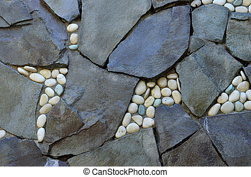 rock wall - texture and pattern on the rock wall