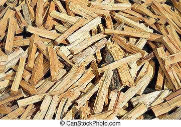 pieces of firewood