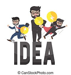 all employers have idea illustration design