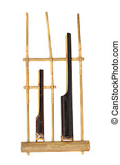 angklung, an Indonesian's traditional musical instrument...