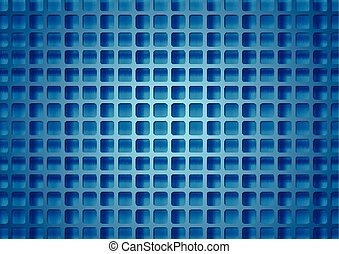 Abstract bright technical squares grid