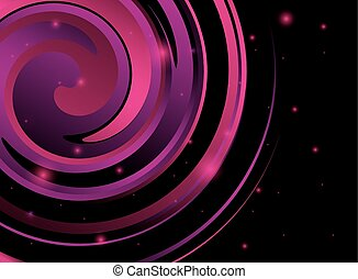 abstract violet spiral background - abstract vector...
