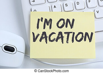 I'm on vacation travel traveling holiday holidays relax...