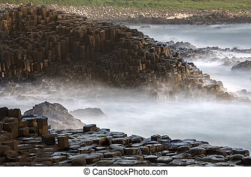 Giants Causeway - County Antrim - Northern Ireland - The...