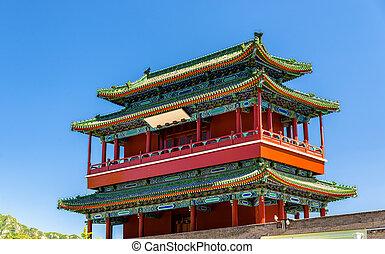 Guoji Archway, the entrance at Juyongguan Great Wall, China...