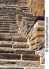 Details of the Great Wall at Badaling - Details of the Great...