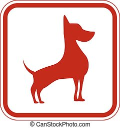 Danger - Friendly Dogs Signs Humorous Comic Labels and...