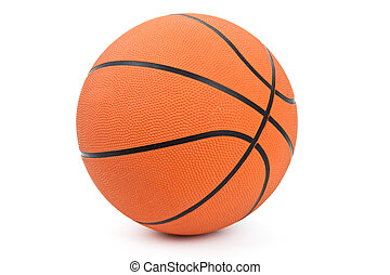 Basketball - Orange Basketball with white background