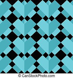 3 D Geometric abstract pattern - 3 D Geometric abstract...