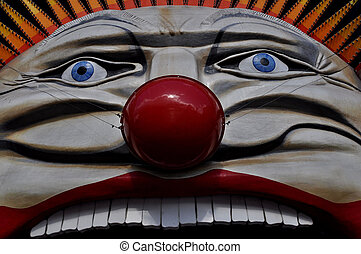 Luna Park\'s Face - Luna Park-Clown Face