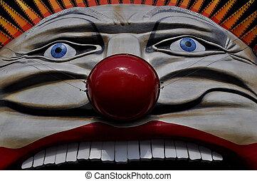 Luna Park\'s Face - Luna Park-Clown Face
