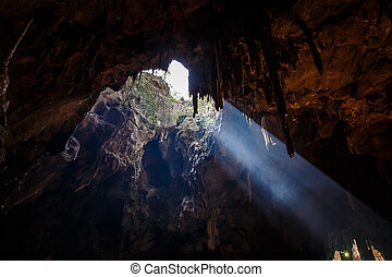 Khao Luang Cave, one of the attractions of Thailand is...