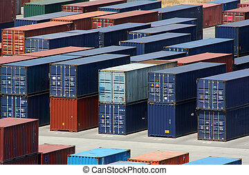 Export Inport 2 - Sea containers