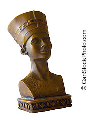 Cleopatra - Head staue of egyptian queen Cleopatra
