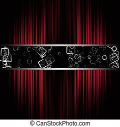 Fantastic abstract stripe background design illustration...