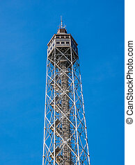 Torre Littoria in Milan HDR - High dynamic range HDR The...