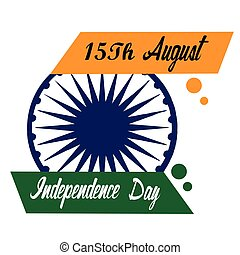 Independence day of India, Vector illustration