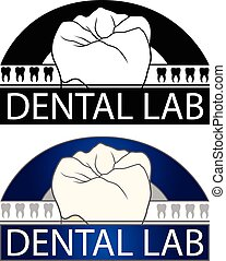 Dental Lab is an Illustration of a design for a Dental Lab...