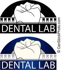 Dental Lab is an Illustration of a design for a Dental Lab...
