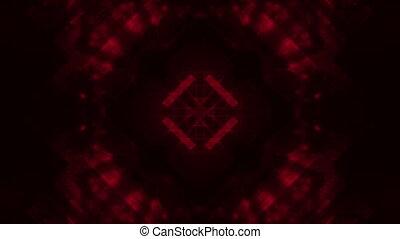 Dark red abstract loop - Geometric dark deep red colored...