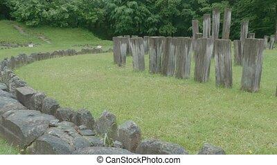 Sarmisegetusa Regia Temple Ruins