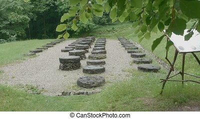 Dacian Civilisation Ruins - Temple ruins of the Dacian...