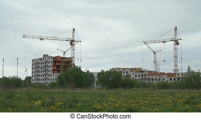 Construction of high-rise residential buildings - The...