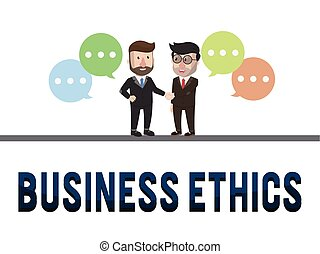 Ethics business concept