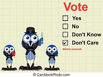 Market research Vote - Vote market research questionnaire on...