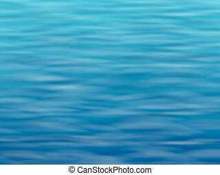 blue water surface background - Blue water with waves. Sea...