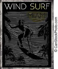 Miami Beach Wind Surfing