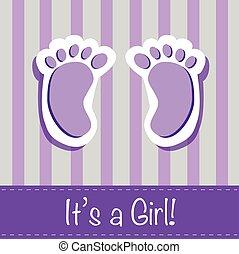It's a Girl Feet
