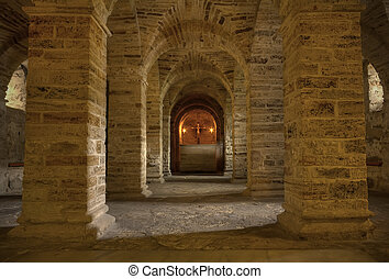 Catacomb Chapel - Medieval underground chapel for silent...