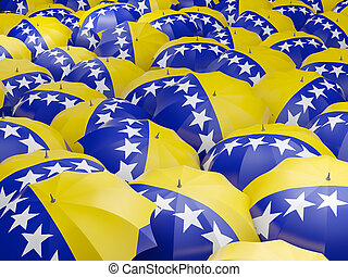 Umbrellas with flag of bosnia and herzegovina - Flag of...