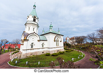 Catholic orthodox church in Hakodate - Catholic orthodox...