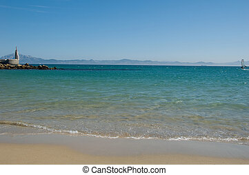 Strait of Gibraltar, Tarifa - Beautiful view strait of...