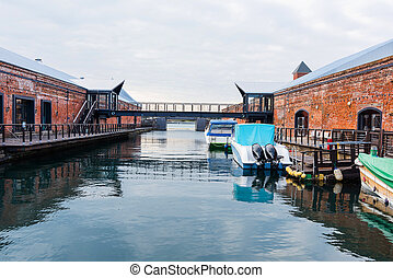 Kanemori Red Brick Warehouse, Hakodate - Kanemori Red Brick...