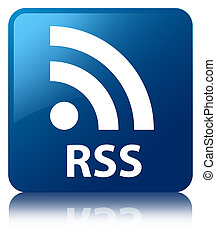 RSS blue square button