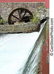 Grist mill - A old grist mill on a river