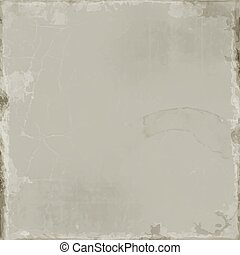 Gray grunge background. Old paper vector.