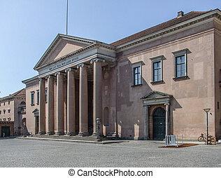 Copenhagen Court House - the Copenhagen Court House in...
