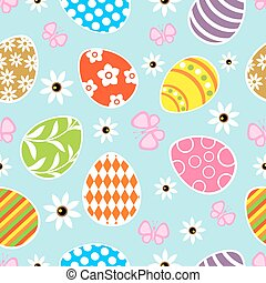Seamless Easter  background card